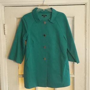 Rafaella  turquoise jacket